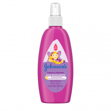 JOHNSON'S® baby Spray para peinar Fuerza y Vitamina